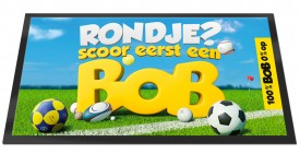 "Barmat ""Rondje? Scoor eerst een BOB"""