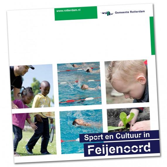 """Gemeentegids """"Sport en Cultuur in Feijenoord"""""""