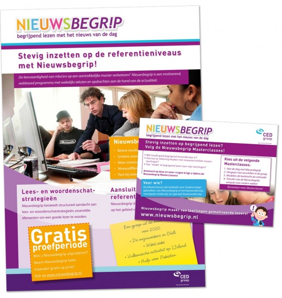 "Advertentie ""Stevig inzetten op de referentieniveau's"""
