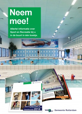 "Poster ""Sport en recreatie in IJsselmonde 2014"""