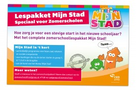"Advertentie ""Lespakket Mijn Stad"""