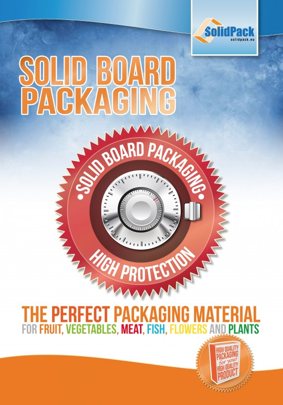 "6 posters ""Solid Board Packaging"""