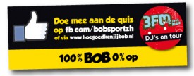 "Promotiemateriaal ""Hoe goed ken jij BOB"""