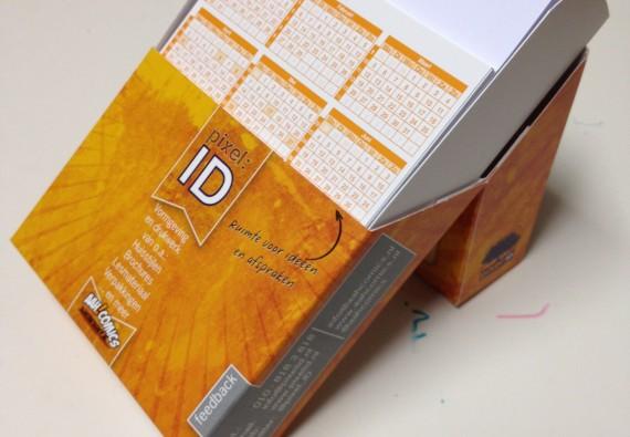 Kalender-notitieblokje PID