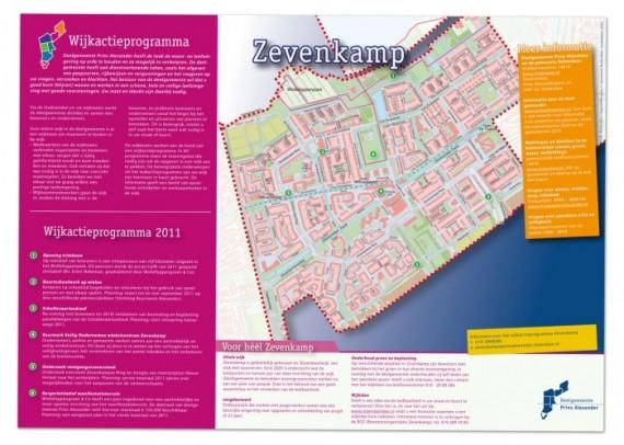 Wijkactie-programma posters