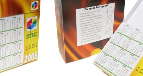 Kalender-notitieblokje