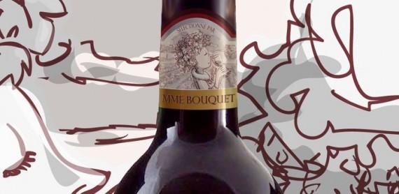 Flesetiket Mme Bouquet