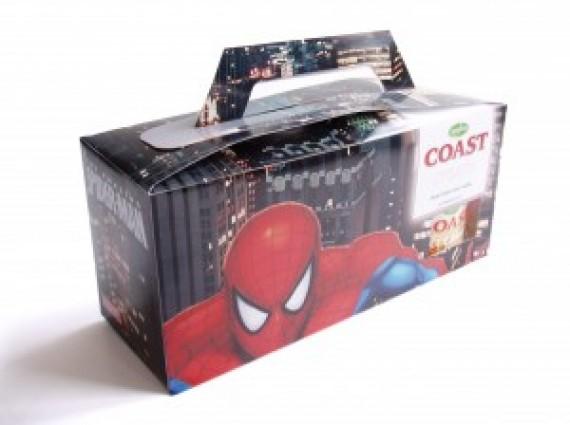 Spiderman verpakking