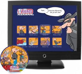 DVD en navigatiemenu