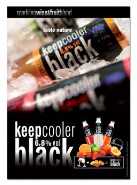 KeepCooler Black posters