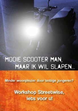 "Flyers en Posters workshop ""Streetwise"""