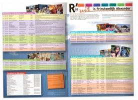 R' op uit bewaar-activiteitenkalender